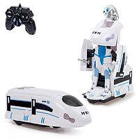Робот-трансформер радиоуправляемый «Поезд», световые и звуковые эффекты