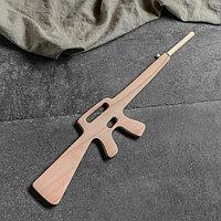 """Сувенир деревянный """"Винтовка М-16"""", 80 см, массив бука"""