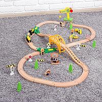 Железная дорога с краном, 10×56×31 см, фото 1
