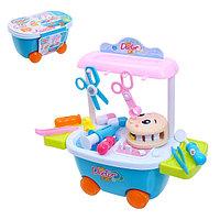 Игровой модуль на колесах «Приём у стоматолога»