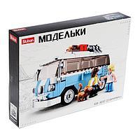 Конструктор Модельки «Минивен», 227 деталей