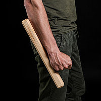 """Сувенир деревянный """"Тонфа"""" 40 см, массив ясеня"""