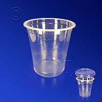Kazakhstan Контейнер пластиковый 200мл PP прозрачный d7,5х5,8см