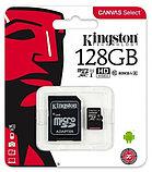 Карта памяти MicroSD 128GB Class 10 U1 Kingston SDCS/128GB, фото 2