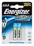 Элемент питания LR03 AAA Energizer MAXIMUM  Alkaline 2 штуки в блистере, фото 2