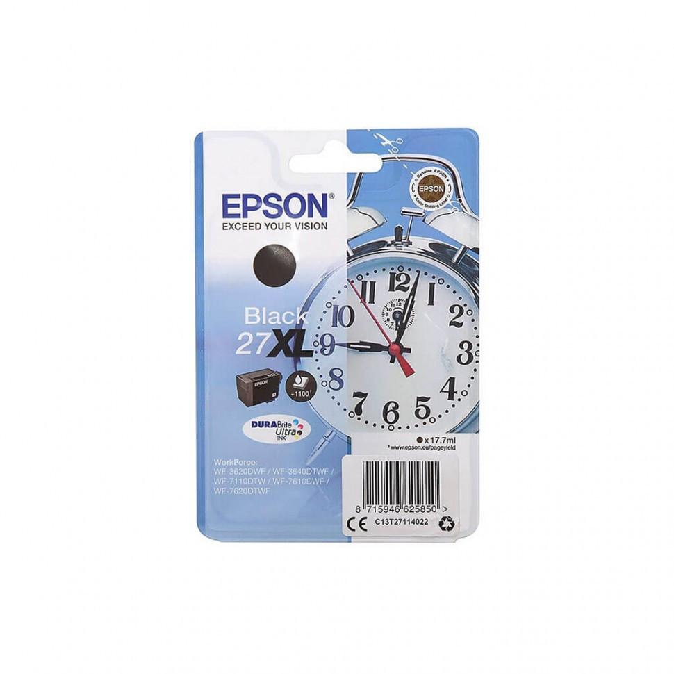 Картридж Epson C13T27114022 для WF-7110/7610/7620 черный new