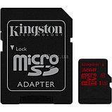 Карта памяти MicroSD 32GB Class 10 U3 Kingston SDCA3/32GB, фото 2