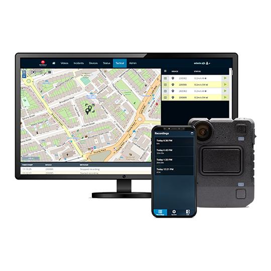 Лицензионное ПО Motorola VideoManager для нагрудных видеорегистраторов