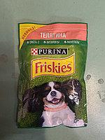 Friskies с Телятиной в подливе Влажный корм для собак, 85г, фото 1