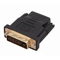 Переходник  штекер DVI папа на HDMI мама