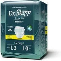 Подгузники для взрослых Dr.Skipp L3 объем 78-130см №10 шт