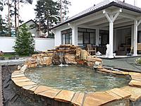 Валуны ,камни Златолита для ландшафтного дизайна, альпийских горок, каскадов, водоемов