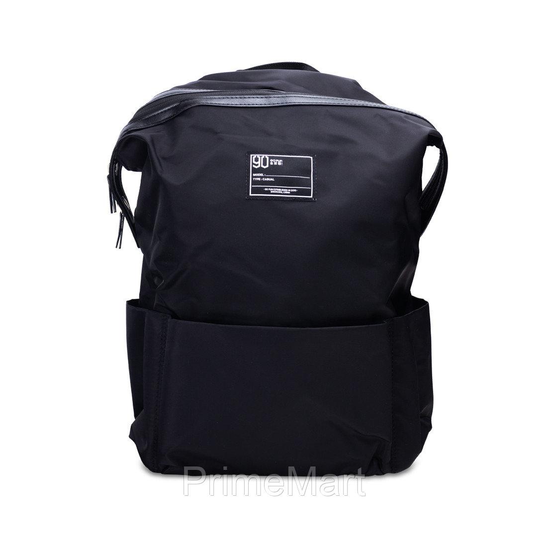 Xiaomi Рюкзак, Водозащищенная, Нейлон, 90 Points, Leisure Backpack, Черный