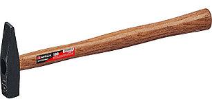 Молоток слесарный с деревянной рукояткой, Mirax 100 гр