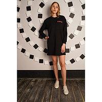 Платье женское Play, цвет чёрный, размер 50