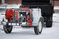 Пожарная мотопомпа на шасси УАЗ