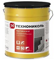 Мастика №27 банка 22 кг приклеивающая ТЕХНОНИКОЛЬ