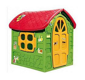 Детский домик игровой зеленый