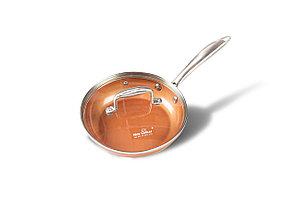 Сковорода с медным покрытием Nice Cooker Gold Series 20x4.6 см 1.0 л