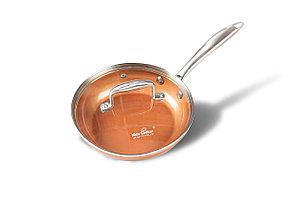 Сковорода с медным покрытием Nice Cooker Gold Series 28x5,4 см 2,5 л