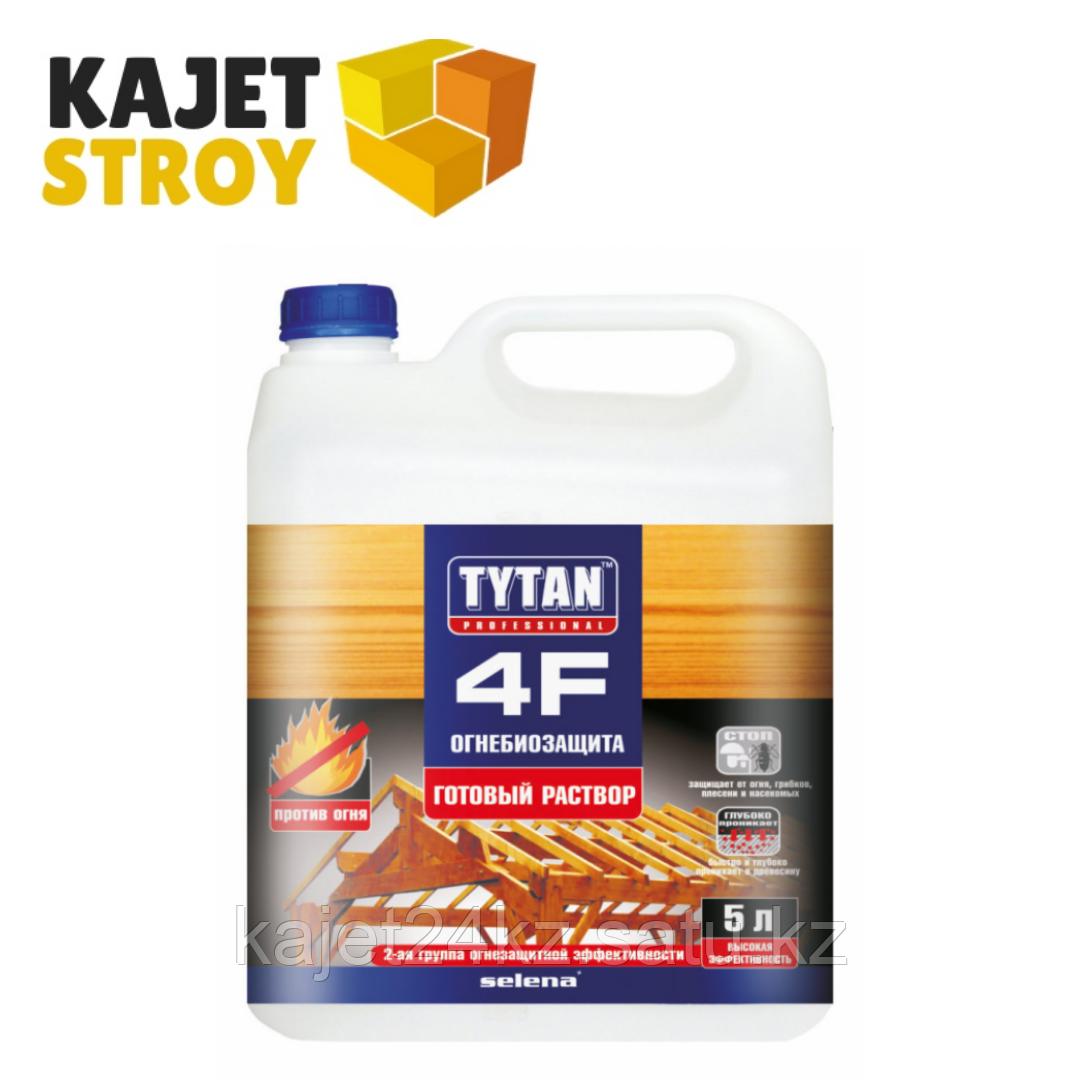 TYTAN 4F Огнебиозащита (готовый раствор), красный 10л