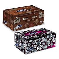"""Салфетки Papia """"Mini"""", 2-х слойные, 120 шт., размер листа 21*21 см, в картонном боксе, белые"""