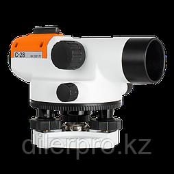 Комплект: оптический нивелир RGK C-28 + штатив + рейка
