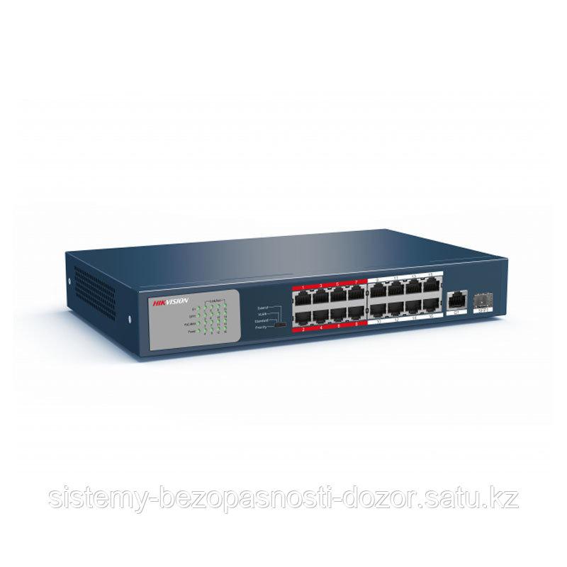 Hikvision DS-3E0318P-E/M свитч 16-портовый