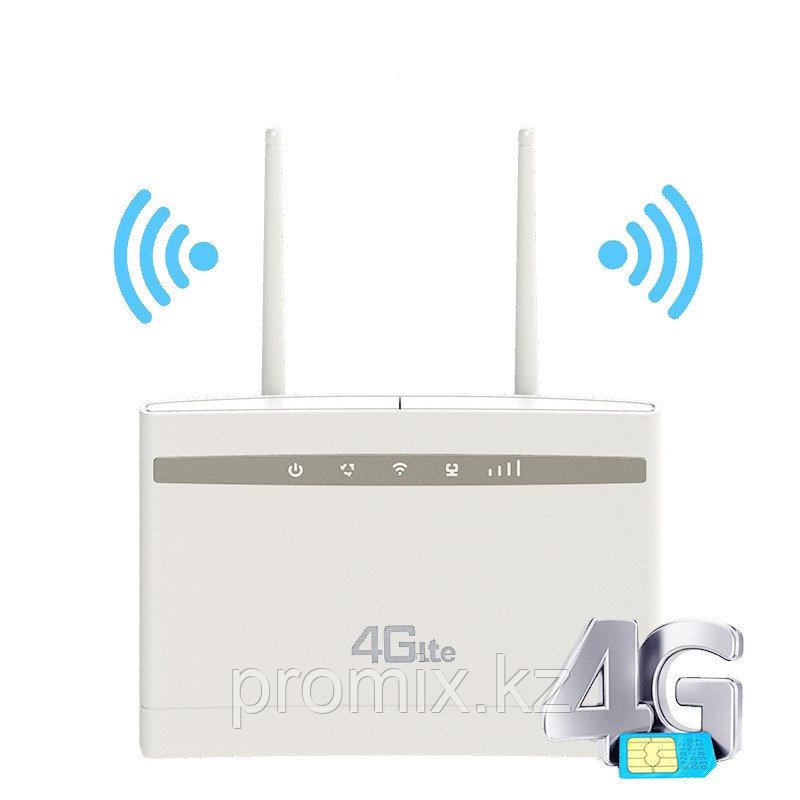 Беспроводной роутер Wi-Fi 4G LTE CPE с слотом для sim-карты