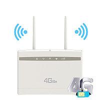 Беспроводной роутер Wi-Fi 4G LTE CPE с слотом для sim-карты, фото 1
