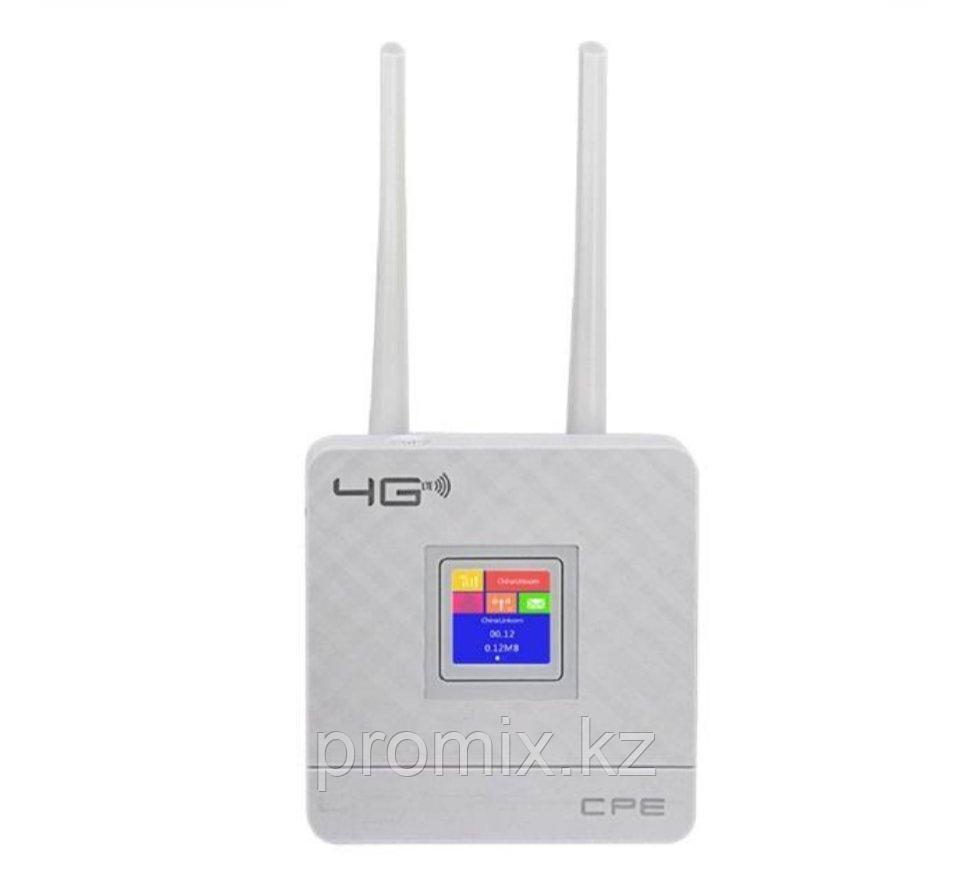 4G роутер с поддержкой сим карт CPE