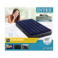 Матрас надувной,1,5 местный, Intex 191 х 137 х 25 см