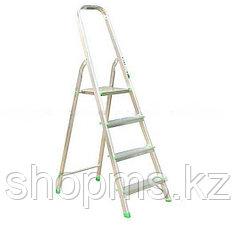 Лестница-стремянка, алюминиевая, 4 ступени, вес 3,0 кг 65342