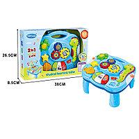 Развивающий столик 2в1 Tot Kids Морской (свет, звук)