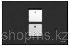 Кнопка смывная Vitra 740-0111 матовая черная