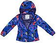 Куртка Softshell для девочек JANET, лилoвый с принтом, фото 2