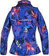 Куртка Softshell для девочек JANET, лилoвый с принтом, фото 3