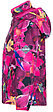 Куртка Huppa Softshell для девочек JANET, фуксиа с принтом, фото 4