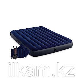 Матрас надувной, двухместный, Intex 203 х 152 х 25 см, фото 2