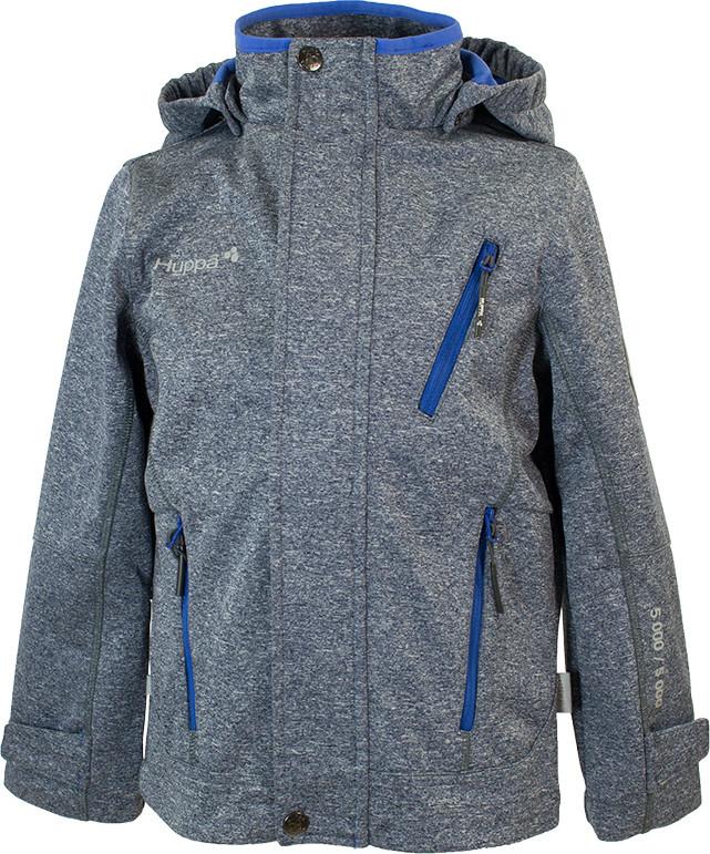 Куртка Huppa Softshell для мальчиков JAMIE, тёмно-синий/синий