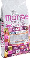 Monge (Монже) Сухой корм для стерилизованных кошек с Уткой
