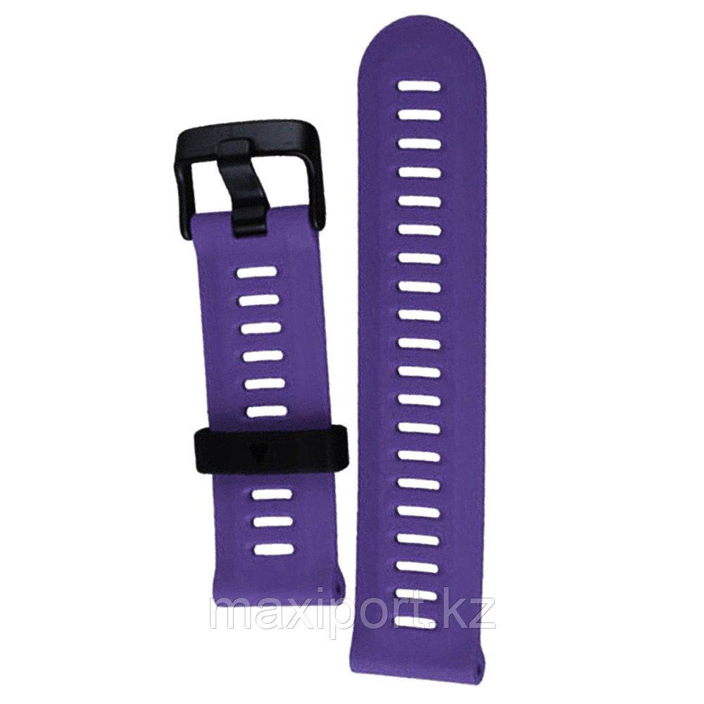 Ремешок силиконовый фиолетовый 22мм для Garmin fenix 5, fenix 5plus, fenix 6