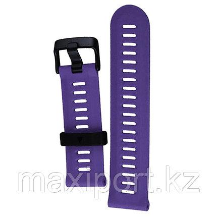 Ремешок силиконовый фиолетовый 22мм для Garmin fenix 5, fenix 5plus, fenix 6, фото 2