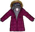 Пальто Huppa для девочек YACARANDA, бордовый S-M, фото 2