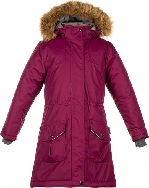Куртка для девочек Huppa MONA, бордовый