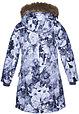 Куртка для девочек Huppa MONA, светло-серый с принтом XS, фото 2