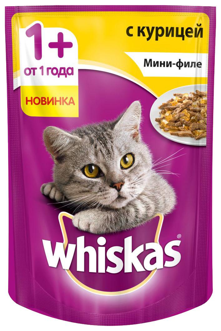 Влажный корм для кошек Вискас Мини-филе Курица