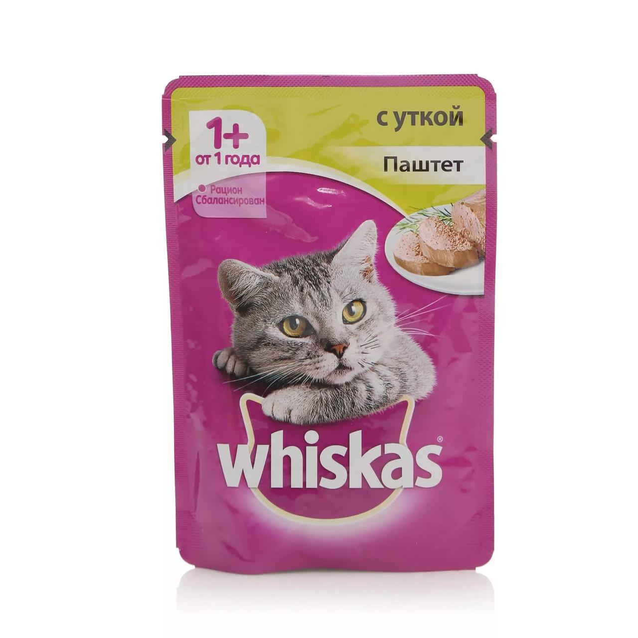 Паштет для кошек Вискас Утка