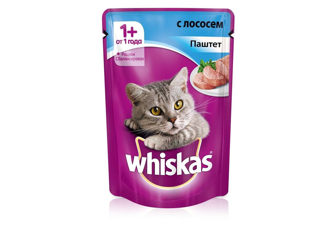 Паштет для кошек Вискас Лосось