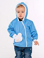 Ветровка Медвежонок (хлопок) голубая арт. 1328/010
